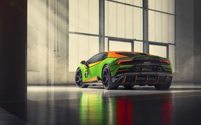 Picture machine, Lamborghini, Evo, exhaust, Huracan, GT Celebration