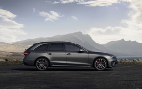 Picture Audi, side view, universal, 2019, A4 Avant, S4 Before
