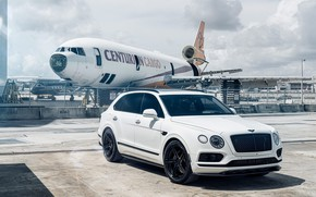 Picture Bentley, White, New, VAG, Aircraft, 2017, Bentayga