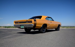 Picture Dodge, Orange, Coupe, Coronet, Muscle car, Super Bee, Modified, 440 Six Pack