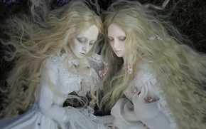Picture style, girls, hair, doll