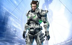 Picture game, armor, suit, Vanquish, Sam Gideon