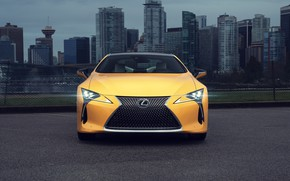 Picture Lexus, front view, LC 500, 2019, Inspiration Series