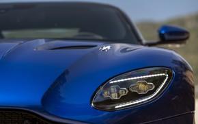 Picture Aston Martin, DBS, Headlight, The hood, Superleggera, Volante, 2019, Aston Martin DBS Superleggera Volante