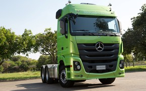 Picture Mercedes-Benz, cabin, tractor, Actros, 2651