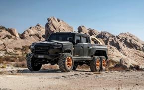 Picture pickup, Rezvani, 2020, Hercules 6x6, шестиколёсный