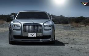 Picture Rolls-Royce, Ghost, Vorsteiner, Tuning, Silver