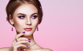 Picture look, girl, style, portrait, makeup, decoration, Oleg Gekman
