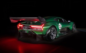 Picture supercar, rear view, 2019, Brabham, BT62