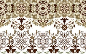 Picture pattern, texture, white background, ornament