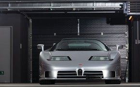 Picture Grey, Supercar, Garage, Bugatti EB 110