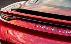 Picture Aston Martin, DBS, Superleggera, rear view, 2018