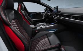 Picture Audi, salon, RS5, Sportback, RS 5, 2020