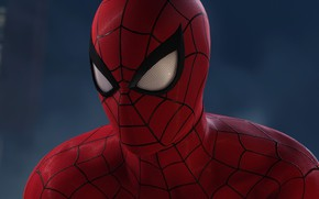 Picture background, costume, comic, MARVEL, Spider-Man