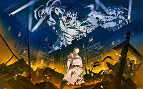 Picture the city, man, Titan, Attack Of The Titans, Shingeki No Kyojin, Eren Yeager