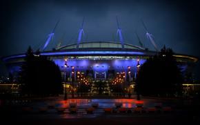"Picture Night, Sport, Light, Zenit, Football, Saint Petersburg, Russia, Arena, Stadium, St. Petersburg, Zenit Arena, ""Saint-Petersburg"", …"