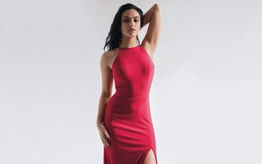Picture look, girl, pose, figure, beauty, Camila Mendes