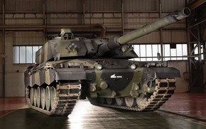 Picture Britain, Experienced tank, Challenger 3