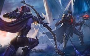 Picture Sylvanas Windrunner, Bow, Bolvar Fordragon, World of Warcraft: Shadowlands