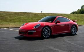 Picture 911, Porsche, red
