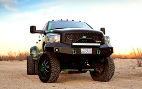 Picture Dodge, 4x4, Tuning, Truck, Ram, Vehicle, Off Road