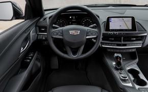 Picture Cadillac, interior, sedan, four-door, 2020, CT4
