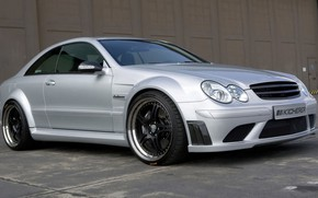 Picture coupe, Mercedes-Benz, Kicherer, Black Edition, car, W209, CLK 63 AMG