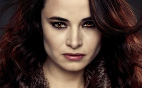 Picture look, girl, vampire, red hair, The Twilight Saga Dawn, The Twilight Saga Breaking Dawn - …