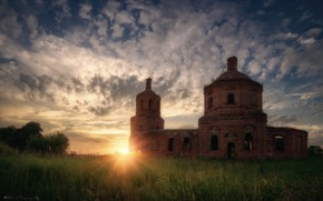 Picture summer, the sky, the sun, Agoranov Alex