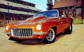 Picture Chevrolet, Front, Muscle car, Vega, Vehicle, Chevrolet Vega