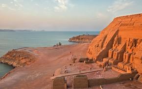 Picture temple, Egypt, Abu Simbel