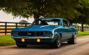 Picture Chevrolet, Camaro, Wheels, '69, Forgeline, GW3