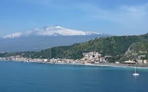 Picture Italy, Etna, Sicily, Taormina