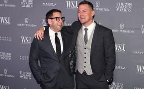 Picture laughter, actors, Channing Tatum, John Hil
