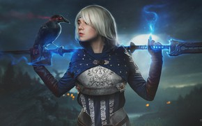 Picture the game, game, Raven, Dragon Age, cospa