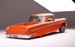 Picture Chevrolet, Orange, The Way, Nomad