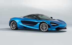 Picture McLaren, supercar, front view, 2018, MSO, 720S, Pacific Theme