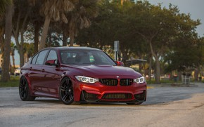 Picture BMW, Evening, RED, Sight, F81