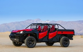 Picture Honda, 2018, Rugged Open Air Vehicle Concept, off-road vehicle