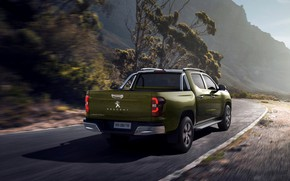 Picture back, Peugeot, pickup, 2020, Country trek, Changan Kaicene F70