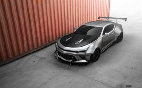 Picture Auto, Chevrolet, Machine, Grey, Camaro, Car, Auto, Chevrolet Camaro, Gray, Supercar, Container, Transport & Vehicles, …