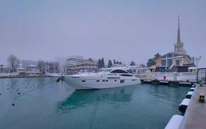 Picture winter, snow, February, Sochi