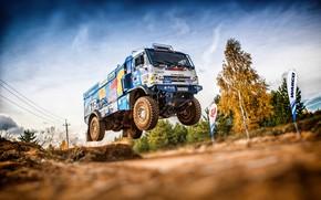 Picture Machine, Speed, Truck, Race, Master, Russia, Kamaz, Rally, Dakar, KAMAZ-master, Rally, KAMAZ, The roads, Best, …
