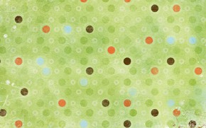 Picture circles, flowers, background, Wallpaper, texture