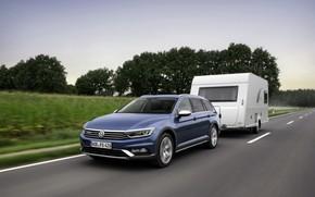 Picture Volkswagen, the trailer, universal, Passat, Alltrack, 2019