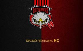 Picture wallpaper, sport, logo, hockey, Malmö Redhawks