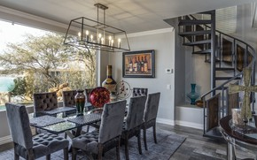 Picture design, table, furniture, chairs, kitchen, dining room