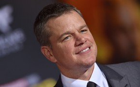 Picture smile, actor, Matt Damon