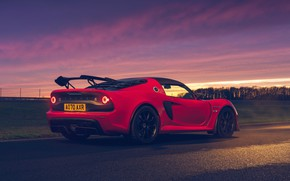 Picture sunset, Lotus, sports car, Requires, Sport, Lotus Exige, 420, Final Edition, 2021