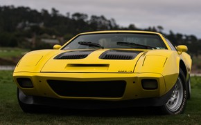 Picture Yellow, Sportcar, AMC AMX 3